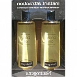 2 Pack of Neutrogena Body Oil Light Sesame Formula, 2-16 fl.