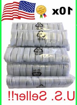 3 OR 10 PACK Cable For Original Apple iPhone 6 7 S 8 X Charg