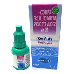 Refresh Liquigel Lubricant Extra Strength Gel Drops For Dry