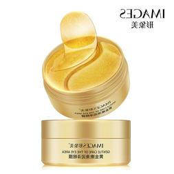 60pcs Gold/Seaweed Collagen <font><b>Eye</b></font> Mask Fac
