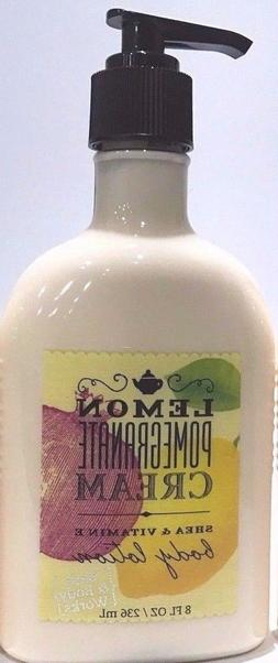 Bath and Body Works Lemon Pomegranate Cream Moisturizing Bod