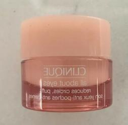 Clinique All About Eyes Gel Cream Treatment Travel Sample GW