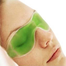 Cold Sleeping <font><b>Eye</b></font> Mask Ice Compress Blue