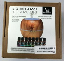Artnaturals Essential Oil Diffuser 140 ml Capacity +Top 8 .3