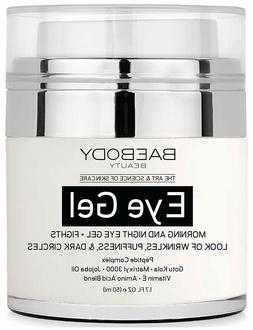 Baebody Eye Gel for Appearance of Dark Circles, Puffiness -