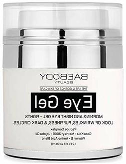 Eye Gel for Appearance of Dark Circles, Puffiness, Wrinkles