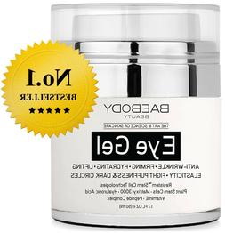 Baebody Eye Gel for Dark Circles, Puffiness, Wrinkles, Bags,