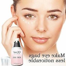Eye Gel, QQ Cute Day Night Anti-Aging Eye Treatment Cream fo