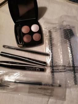Avon Eye Lot. Brushes, Shadow, Brow gel, Mascara, Glimmersti