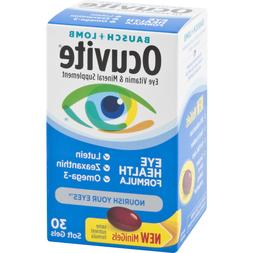Bausch + Lomb Ocuvite Eye Vitamin and Mineral Supplement Eye