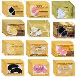 Gold Crystal Collagen <font><b>Eye</b></font> Mask <font><b>