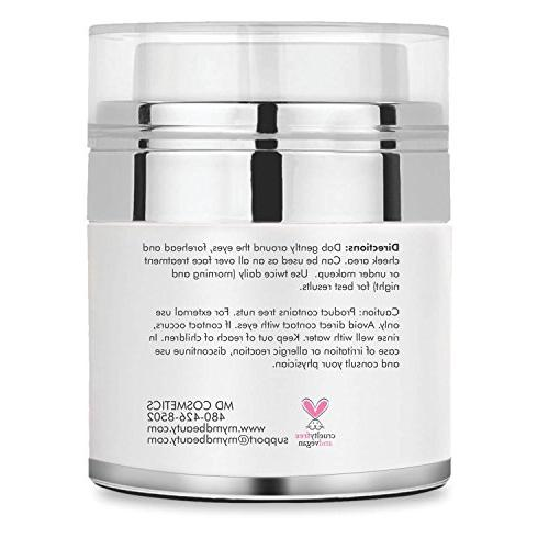 MD for Dark Circles, Puffiness, Wrinkles and Bags. The Most Anti-Aging Eye 1.7