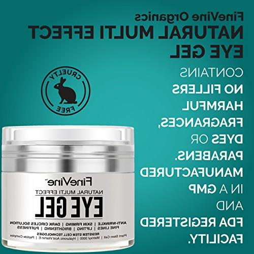 Anti Aging - Made in USA - for Dark Circles, Puffiness, Firming, crows - Best Natural for and Around Eyes.