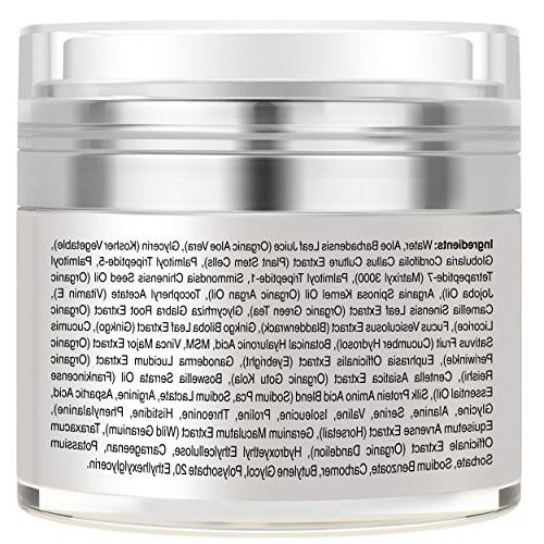 Anti Aging - Made in USA - Dark Circles, Puffiness, Bags, Firming, Best Natural Eyes.