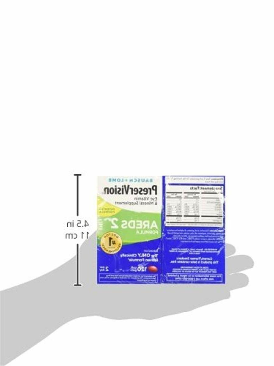 Preservision Areds Vitamin Mineral Supplement 120 Count Soft Gels 2