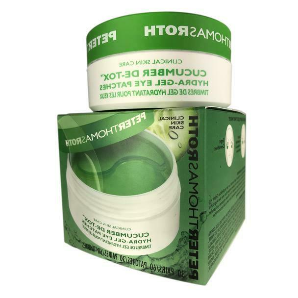cucumber hydra gel eye patches 30 pairs