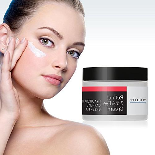 Retinol Eye Cream from Boosted Tea, Anti Anti Skin Tone, Moisturize and Hydrate