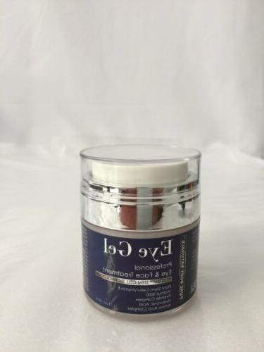 Pure Body Naturals Eye Gel Professional Eye and Face Treatme