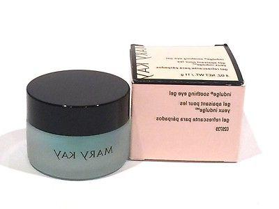 MARY KAY INDULGE SOOTHING EYE GEL~NIB~FULL SIZE JAR~COOLING