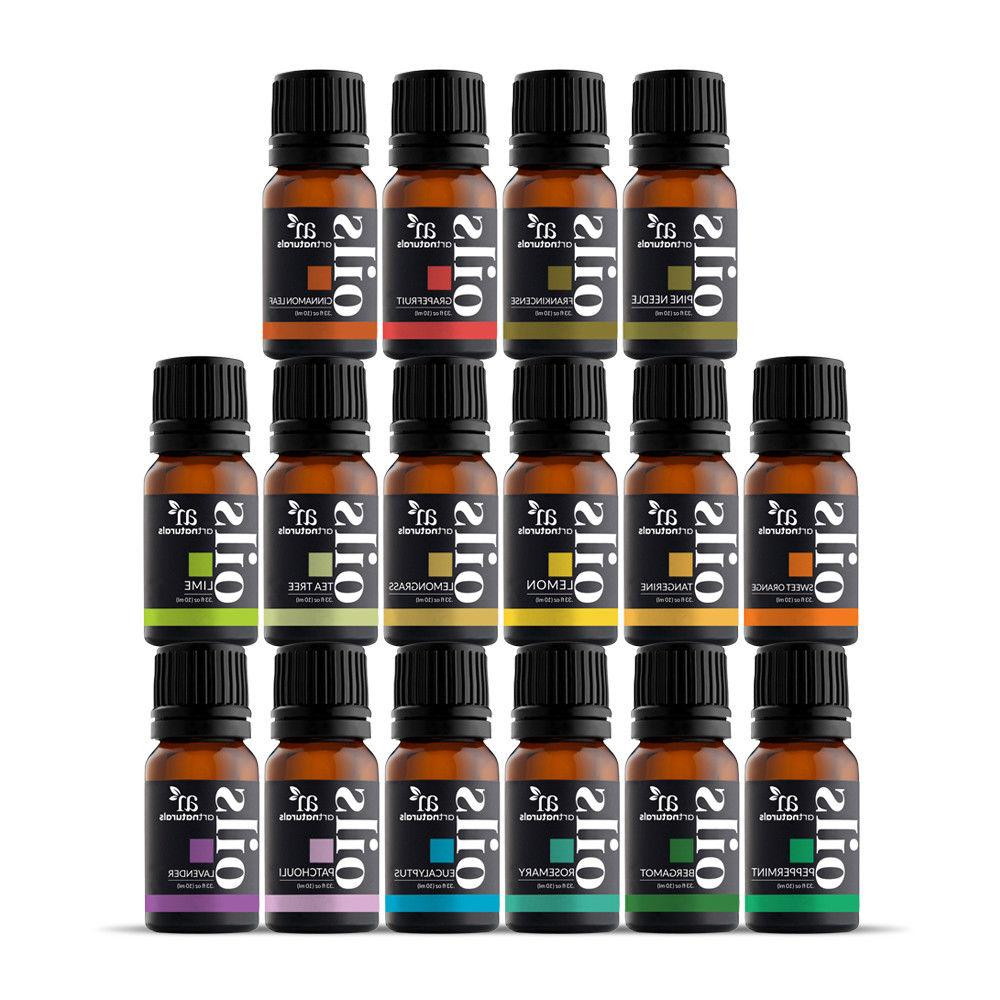 Pure Essential Oil Sets - Natural Aromatherapy for Oil Diffu