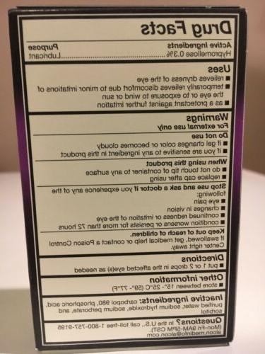 GenTeal Tears for Severe Dryness 0.34 oz Pack.