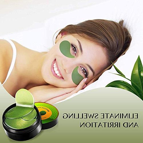NBCT Under Matcha Collagen Anti-Wrinkle Pads Green Patch-60, 60