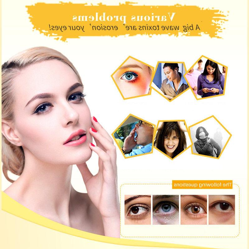 USA Anti-Wrinkle Circle Collagen Eye Patches Pad Gold