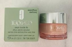 NIB Clinique All About Eyes Gel Cream Treatment Travel Sampl