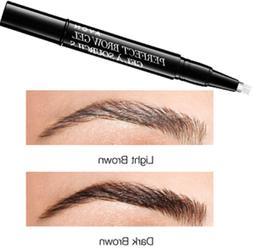 AVON  PERFECT BROW GEL * DARK BROWN * FILL IN SHAPE * SEALED