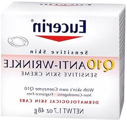 Eucerin Q10 Anti-Wrinkle Sensitive Skin Creme 1.7 oz.