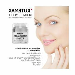 Retinol Under Eye Gel - Combo Eye Cream for Dark Circles, Ey