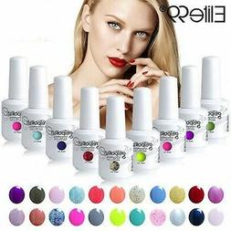 Elite99 UV LED Colors Gel Polish Nail Lacquer Varnish Soak O