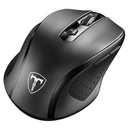 2.4G Wireless Mobile Mouse w/ USB Receiver 5 Adjustable DPI